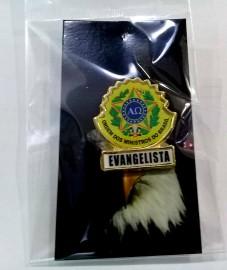 Boton especial com brasão,EVANGELISTA