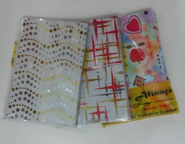 Saquinhos Laminado decorado 10x15,c/ 50 pçs