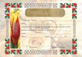 Certificado  de Casamento,cada