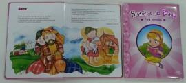 Livro histórias da bíblia para meninas,cada