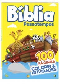 Bíblia passatempos  100 páginas ( colorir e atividades)