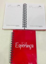 Agenda  permanente  Esperança( rosa)