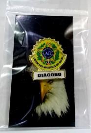 Boton especial com brasão,DIÁCONO