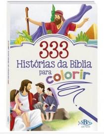 333 HISTÓRIA DA BÍBLIA PARA COLORIR