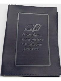 Capa de Bíblia o senhor é meu pastor,n 13 cada