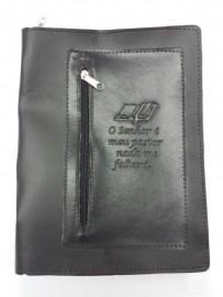 Capa de Bíblia com bolso,n 13 cada