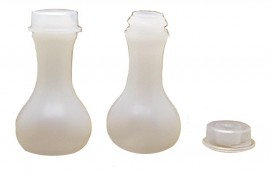 Botija Transparente 8 ml,com 100 pçs