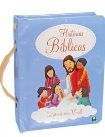 Livro histórias Bíblicas  com alcinha.