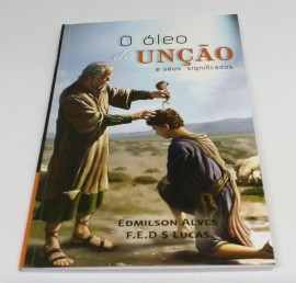 Livro com significado dos óleos de unção
