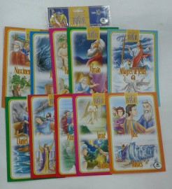 Clássicos da Bíblia,kit com 10 pçs